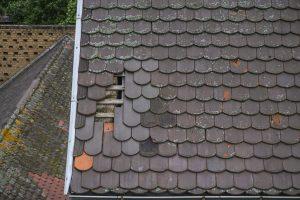 Inspection de toiture