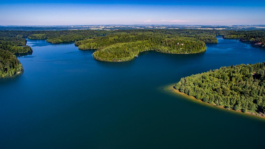 Lac de Pierre Percée - Hauteur de vol 150 mètres