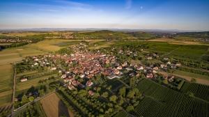 Vue Ouest de Traenheim