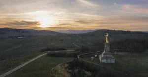 Statue du Sacré Coeur - Wolxheim
