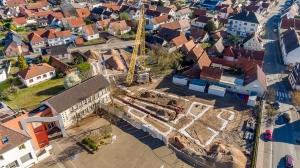 Suivi de chantier du groupe scolaire - Schweighouse-sur-Moder